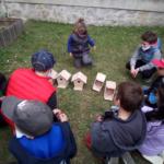 Décoration de cabanes à oiseau à rouffiac dans le cantal